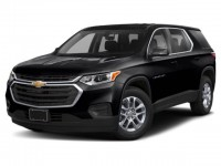 New, 2020 Chevrolet Traverse LS, Black, -1