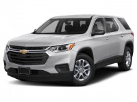 New, 2020 Chevrolet Traverse LS, Gray, -1