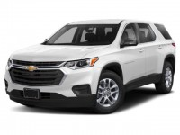 New, 2020 Chevrolet Traverse LS, White, -1