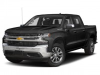 New, 2020 Chevrolet Silverado 1500 Custom, Black, LZ105835-1