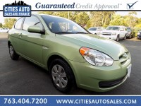Used, 2010 Hyundai Accent Hatchback GS, Green, P9508-1