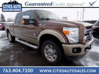 Used, 2011 Ford Super Duty F-250 Pickup King Ranch, Brown, P9761-1