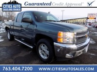 Used, 2012 Chevrolet Silverado 1500 LT, Blue, P9754-1