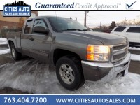 Used, 2012 Chevrolet Silverado 1500 LT, Gray, P9765-1