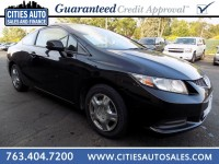 Used, 2013 Honda Civic LX, Black, P9553-1