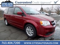 Used, 2014 Dodge Grand Caravan SXT, Red, P9214-1