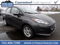 Used, 2017 Ford Fiesta SE, Gray, P9268-1
