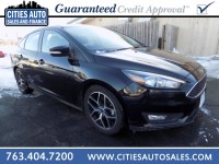 Used, 2017 Ford Focus SEL, Black, P9264-1