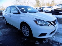 Used, 2018 Nissan Sentra S, White, P9266-1