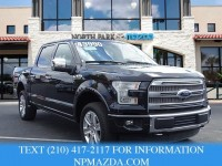 Used, 2015 Ford F-150 Platinum, Black, PFA86874-1
