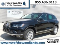 New, 2016 Volkswagen Touareg 4-door TDI Sport w/Technology, Black, WFW6757-1