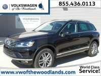 New, 2016 Volkswagen Touareg 4-door TDI Lux, Black, WGM7483-1