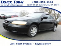 Used, 2002 Honda Accord Cpe SE, Black, 025928-1